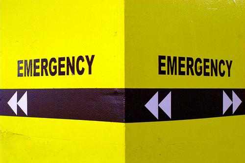 Emergency x 2 by Ian Muttoo, via Flickr.