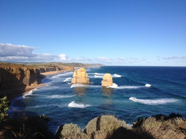 from Great Ocean Road in Australia