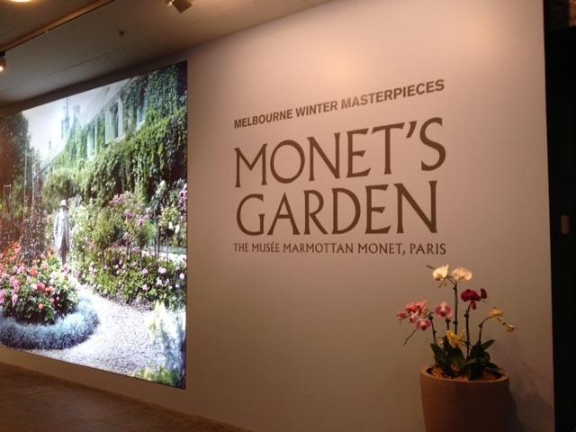 Monet exhibit, Melbourne
