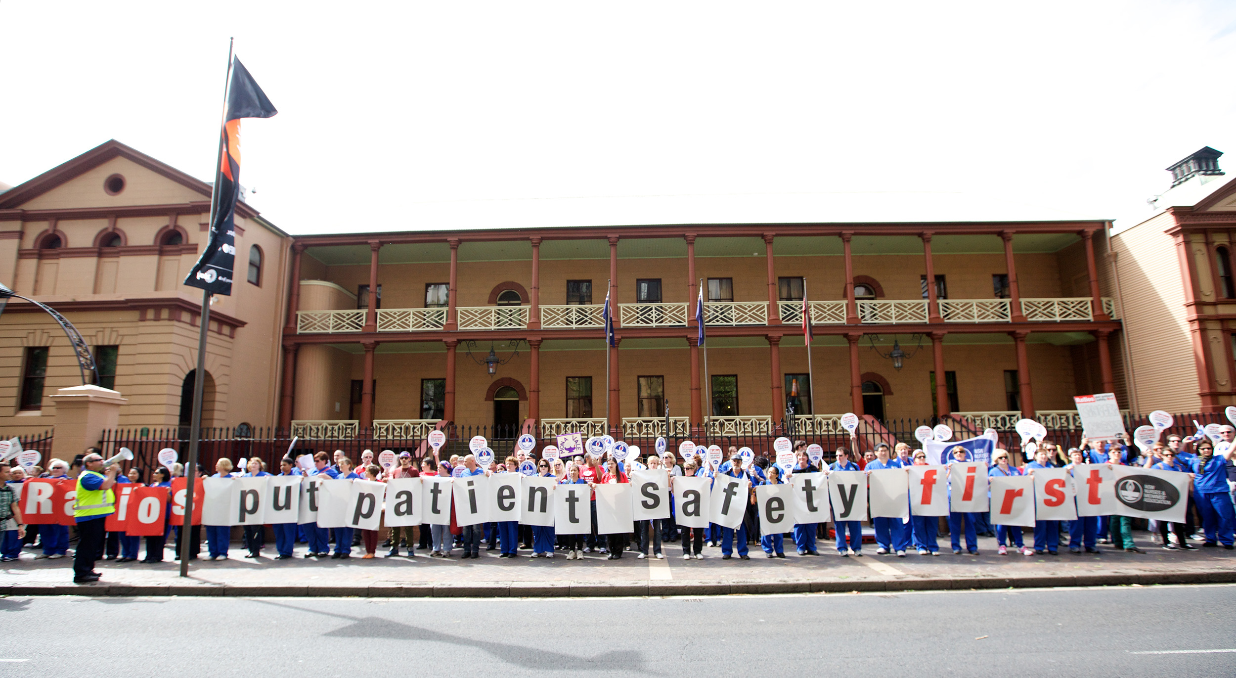 New South Wales Nurses and Midwives' Association rally