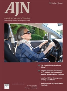 AJN September Issue: Family Caregivers and Alzheimer's, Older Adults and Driving, C. Diff. Prevention, More